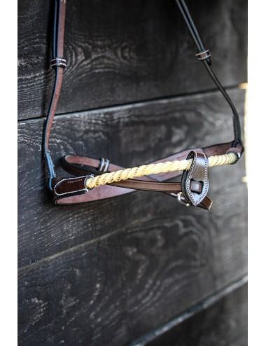 Muserolle combinée corde
