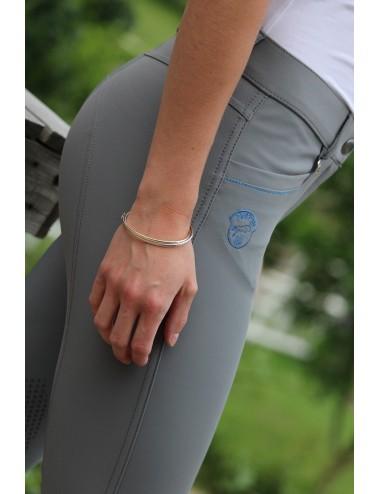 Pantalon d'équitation dame - Super X - Gris