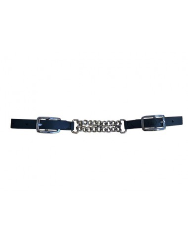 Adjustable Curb Chain with Biothane buckles