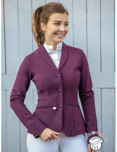 SPA Lady Competition Jacket - Plum