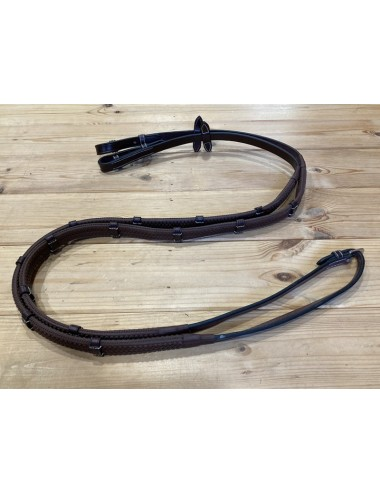 Rubber Reins With Stops