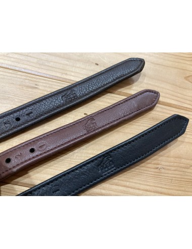 Stirrup Straps covered with leather