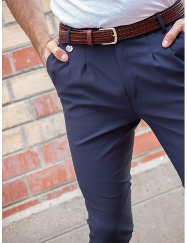 Men's Super X Tom darted breeches - Navy