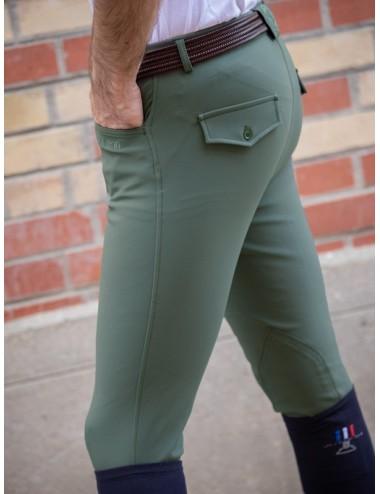 Pantalon d'équitation homme - Super X - Thym