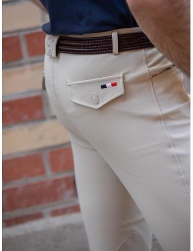 Pantalon d'équitation homme - Super X - Beige