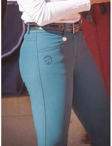 Pantalon d'équitation dame - Super X - Lagon