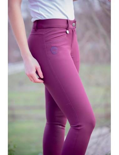 Super X women's breeches - Plum