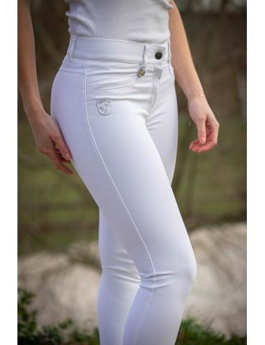 Super X women's breeches - White