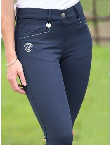 Pantalon d'équitation dame - Super X - Marine