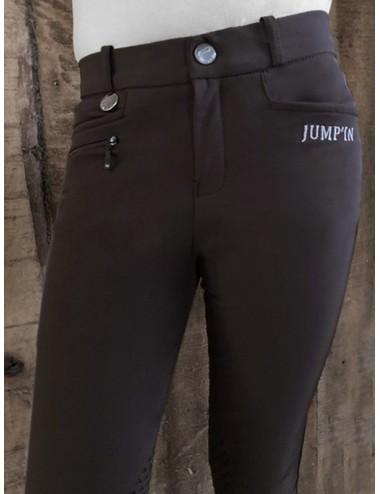 Pantalon d'équitation Junior mixte Sacha - Choco