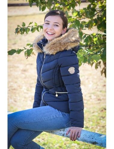 Hortense Down Jacket - Navy