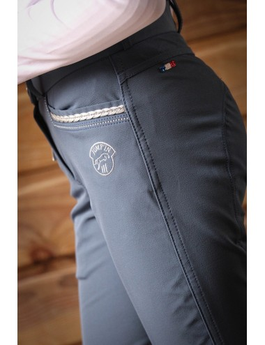 Junior Girl Marie Breeches - Military Blue