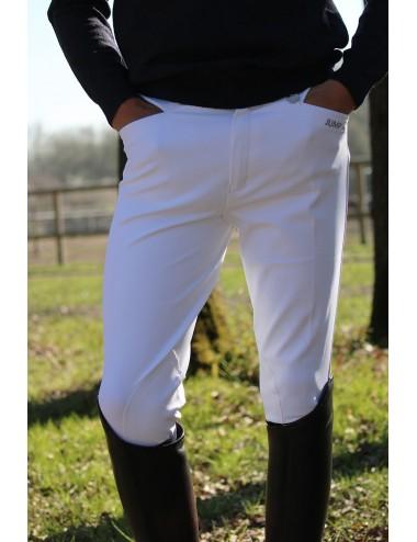 Pantalon d'équitation homme - Super X - Blanc