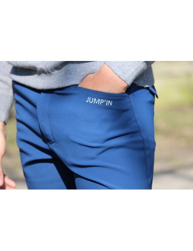 Super X men's breeches - Indigo blue