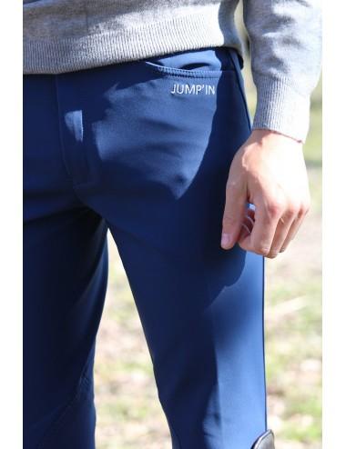 Pantalon d'équitation homme - Super X - Indigo