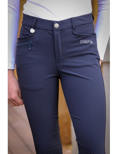 Pantalon d'équitation Junior mixte Sacha - Marine