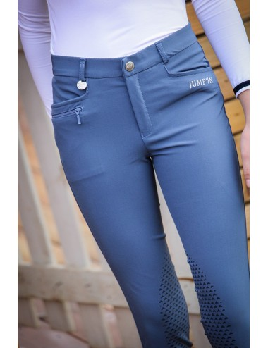 Junior Mixed Sacha Breeches - Military blue