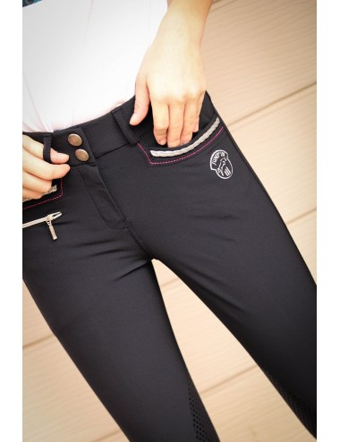 Junior Girl Marie Breeches - Navy
