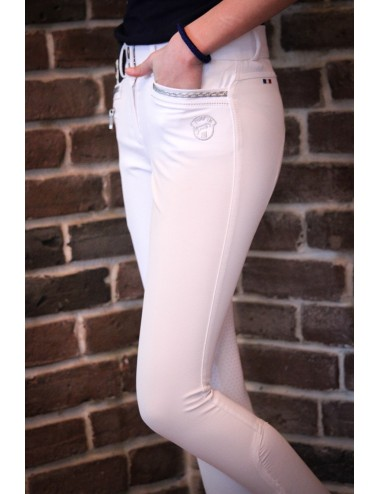 Junior Girl Marie Breeches - White