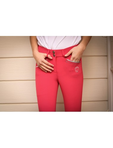Junior Girl Marie Breeches - Red