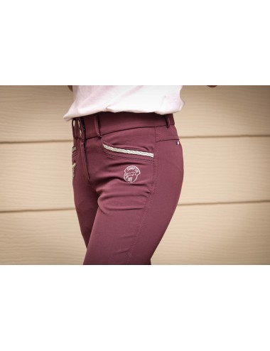 Junior Girl Marie Breeches - Plum