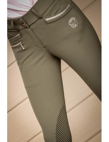 Junior Girl Marie Breeches - Khaki