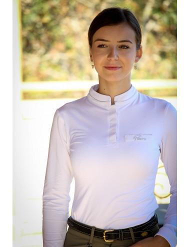 Polo de concours manches longues - Justine