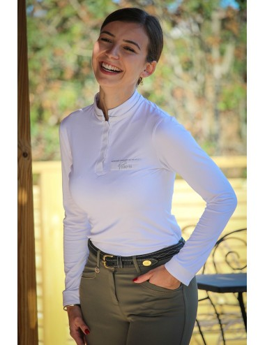 Long-sleeve Competition Polo shirt - Ophélie